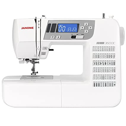Janome Decor Computer 360 QDC Máquina de coser