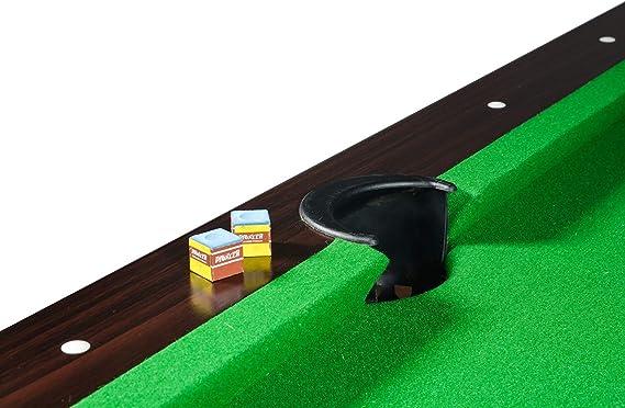 Billar Americano 217 x 125 x 80 cm Mesa de Billar con Accesorios ...