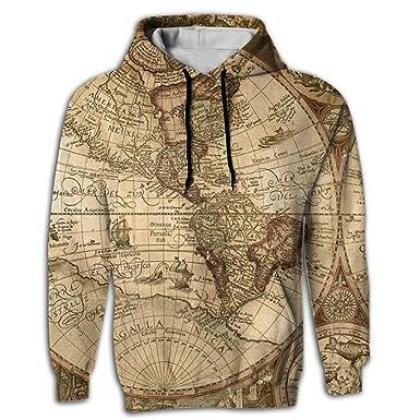 Amazon uuw66 hoodie sweater world map sublimation full print uuw66 hoodie sweater world map sublimation full print super moe adult hoodie whitesmall gumiabroncs Gallery