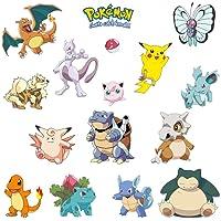 Kibi Pokemon väggklistermärken Pokemon väggklistermärken för sovrum Pokemon Go klistermärken för barn sovrum barnkammare…