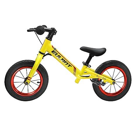 EULANT Bicicleta Sin Pedales para Niños de 2-6 años, Bicicleta de Equilibrio,