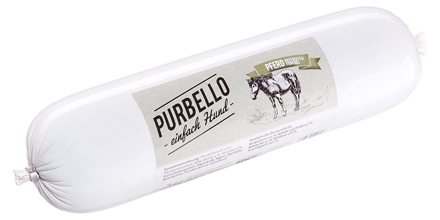 PurBello Dog Feeding Horses Pack of 8 (8 x 1.75lb)