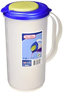 Sterilite Pitcher (Blue-Green / 2 Qt.-1.9L)