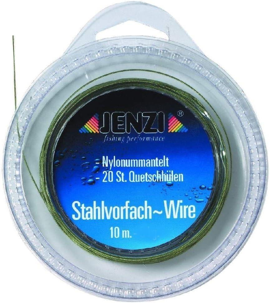 con 20/pcs Trace Crimps Jenzi Wire Bait Trace para 10/M