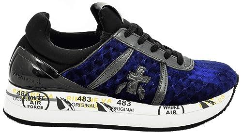 PremiataSneaker Blu Donna Liz Pre liz 3354 Da CtxshQrd