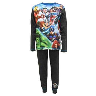 Marvel Avengers Superhero Gang Boys Pajamas