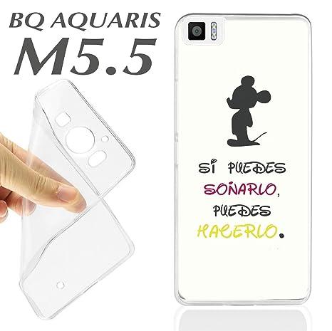626723de31c FUNDA CARCASA + PROTECTOR DE CRISTAL (OPCIONAL) BQ AQUARIS M5.5 M 5.5