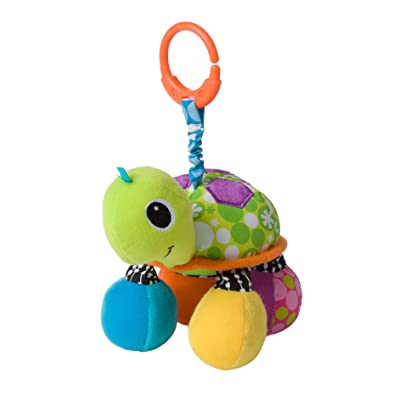 Infantino Topsy Turtle Mirror Pal : Baby Toys : Baby