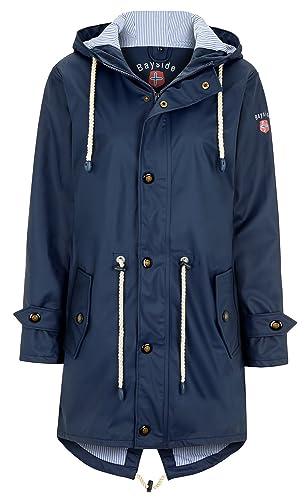 BAYSIDE – Abrigo impermeable – para mujer azul marino 60