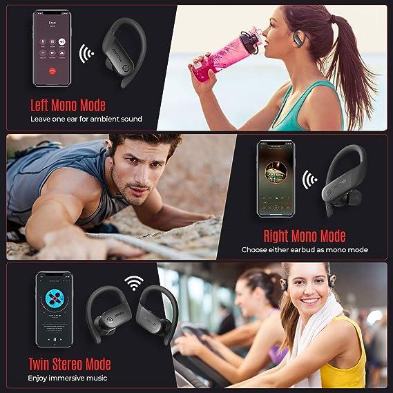 Wireless Earbuds Sport, Mpow Flame Lite in Ear Bluetooth Earbuds