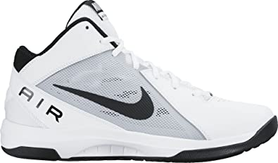 Nike The Air Overplay IX, Chaussures de Sport - Basketball Homme, Blanc  (White