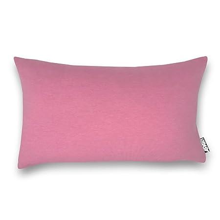 Jersey Funda de cojín Mia en color rosa jaspeado como ...