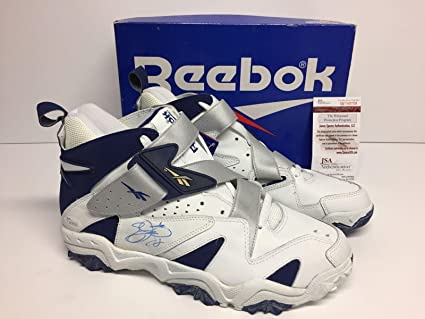 Emmitt Smith Signed Reebok Football Preseason Turf Shoes  Cowboys  HOF -  JSA Certified - Autographed NFL Cleats  Amazon.ca  Sports   Outdoors eb60d320a