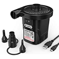 Dr.meter Portable Rechargeable Electric Air Pump
