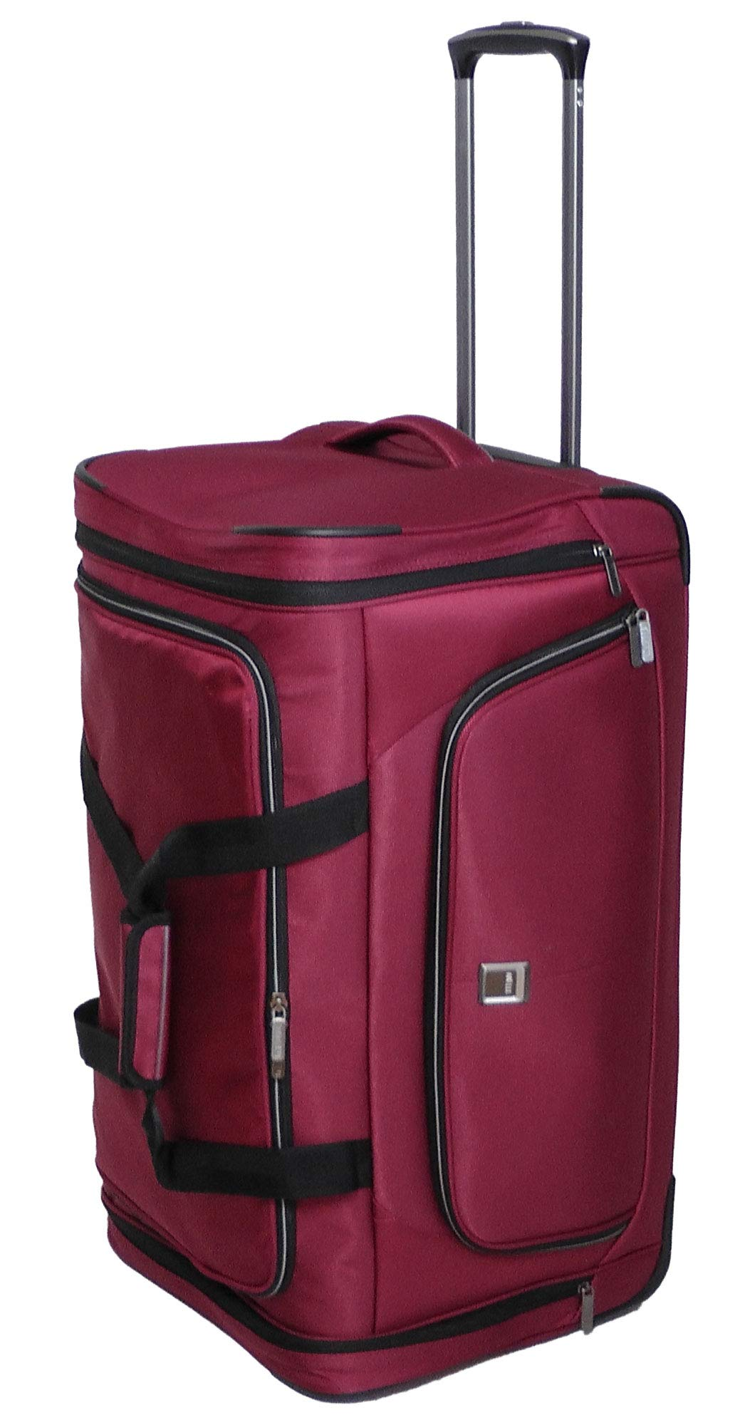 Titan Luggage and Travel Gear Nonstop 27 Wheels Duffel Bag, Red, One Size