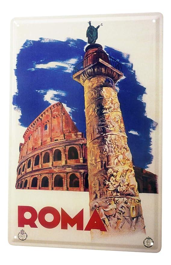 LEotiE SINCE 2004 Cartel Letrero de Chapa Deco Ciudad Roma