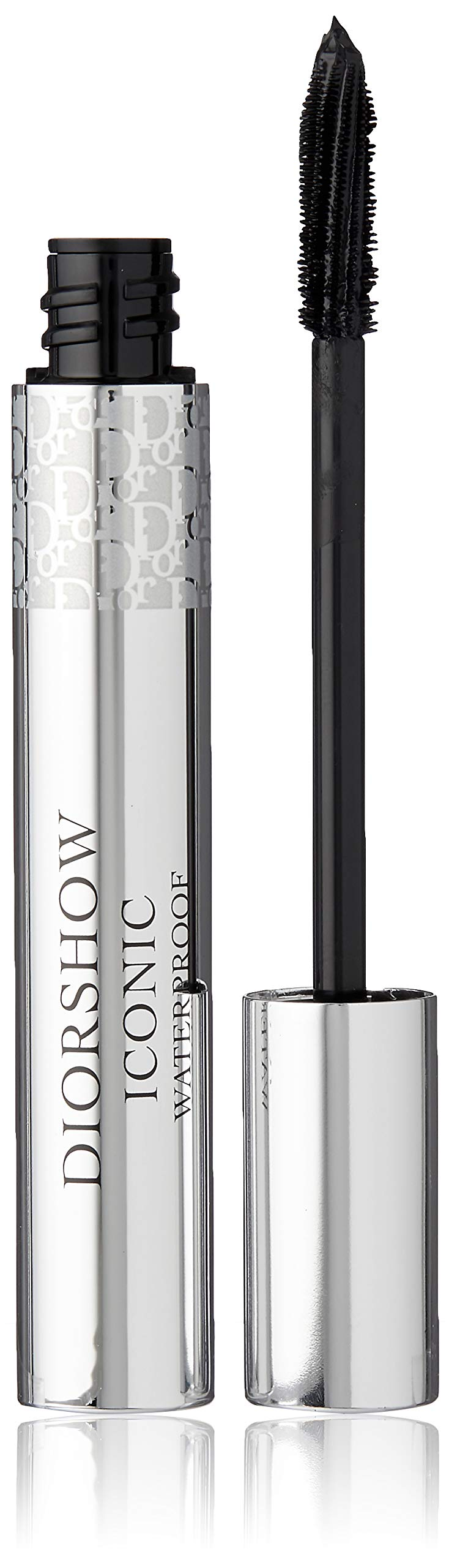 Christian Dior Diorshow Iconic Waterproof Mascara -- Extreme Wear High Intensity Lash Curler -- #090 Extreme Black 0.27 oz by Dior
