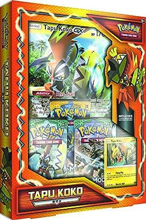 Caja Pokémon Tapu Koko: Amazon.es: Juguetes y juegos