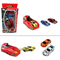 BestBuyToy Rapid Launcher Play Set Toy with Die Cast Metal Stunt Car and Stoppers (5 Cars)