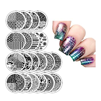 Amazon Winstonia Third Generation Nail Art Stamping Image