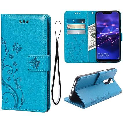 Amazon.com: Funda tipo portafolios para HTC One M8 funda, M8 ...