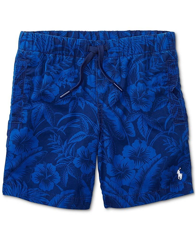 Ralph Lauren Boys Lightweight Cotton Shorts Blue Multi