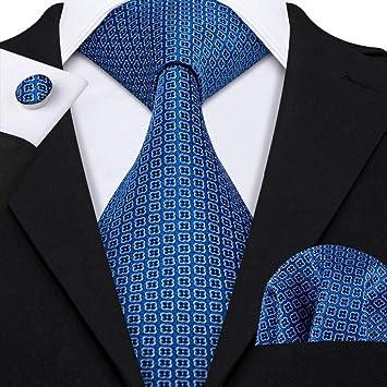 WOXHY Corbata de los Hombres Recién Llegado Moda Corbata Pañuelo ...