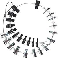 Nut, Bolt Thread Checker(Inch & Metric), Gauge Meetinstrument voor Imperiale en Metrische Moeren