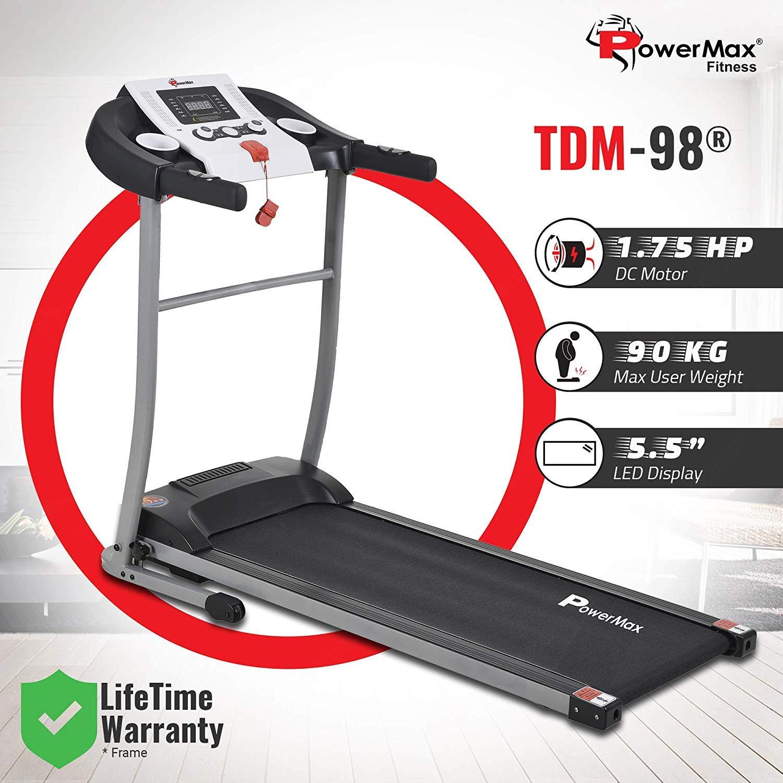 Powermax Fitness TDM 98: best treadmills in India