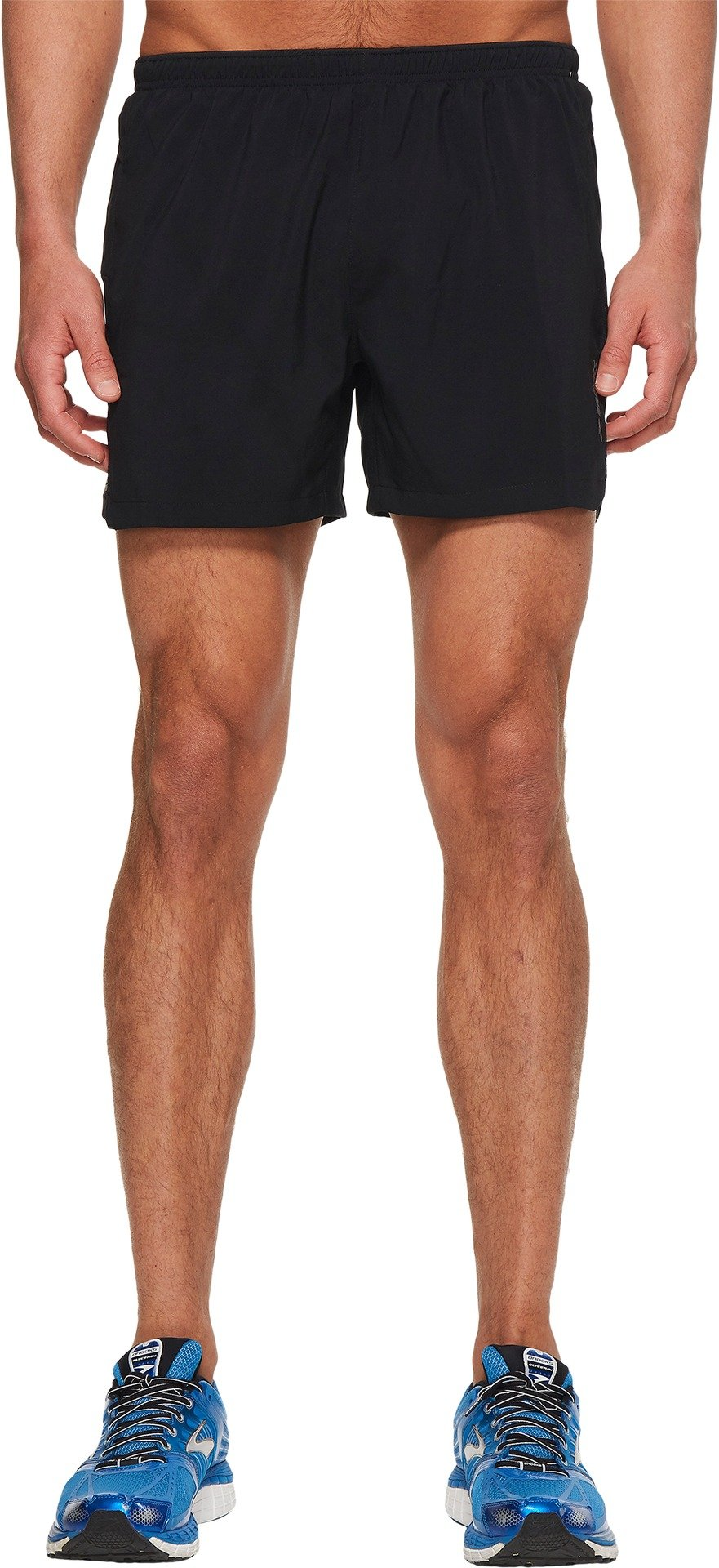 Brooks Men's Sherpa 5'' Shorts Black Medium 5 by Brooks (Image #1)