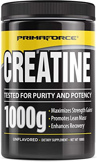 PrimaForce Creaform Powder Supplement – Maximizes Strength Gains/Promotes Lean Mass/Enhances Recovery – 1,000 Grams