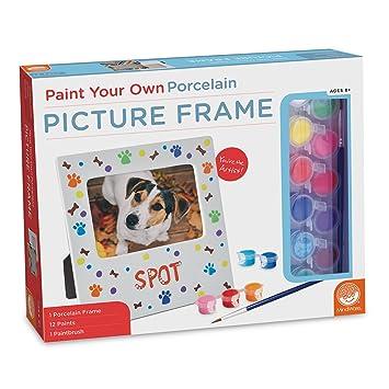Amazoncom Mindware Paint Your Own Porcelain Picture Frame Toys