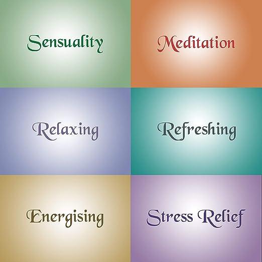 Varillas de Incienso (120 Varillas) - 6 Cajas, 20 Varillas por Caja - Inciensos Estados de Ánimo - Relajantes, Alivio del Estrés, Meditación, Refrescante, ...