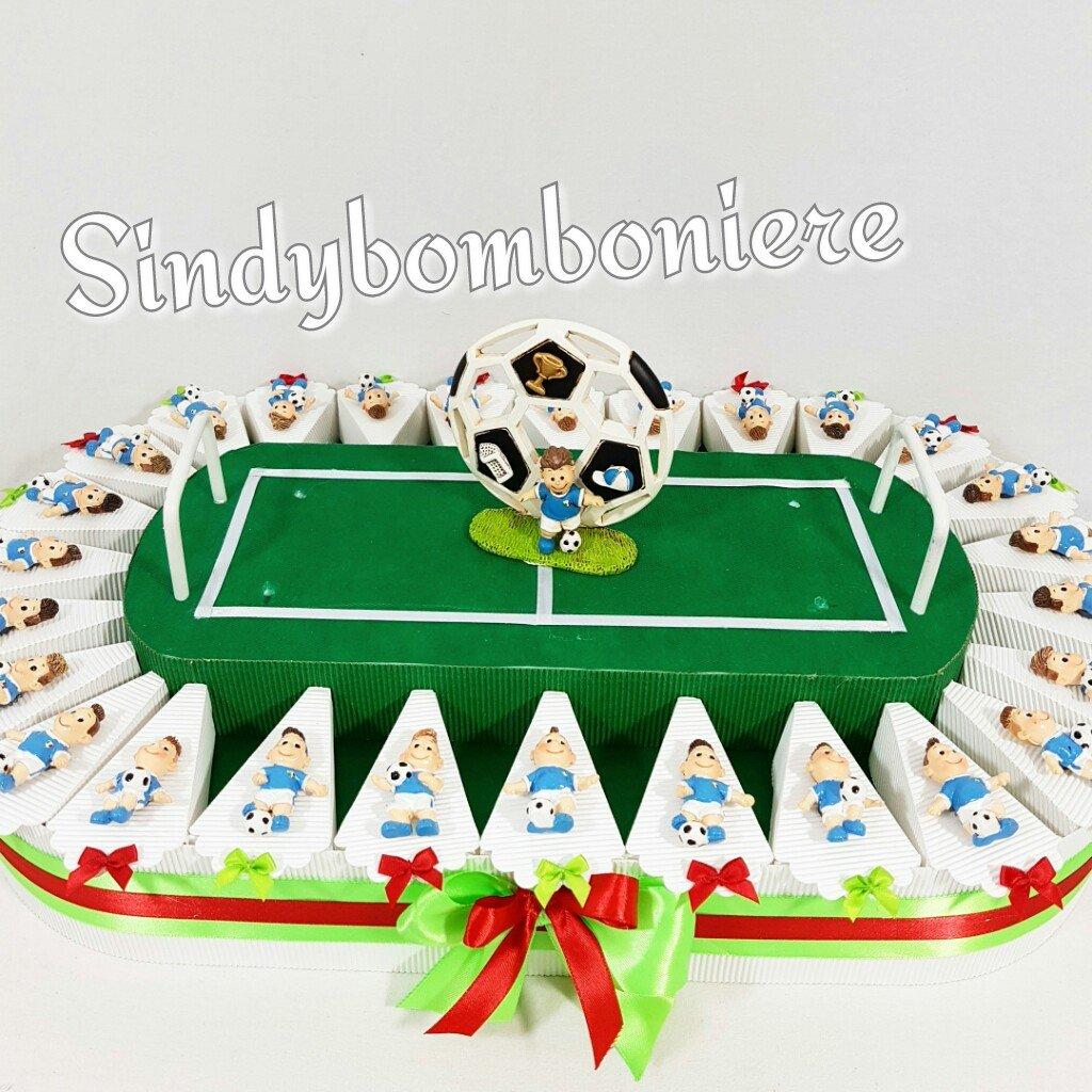 Estremamente Bomboniere Calcio Juventus Milan Inter Napoli Roma composti da 32  WY11