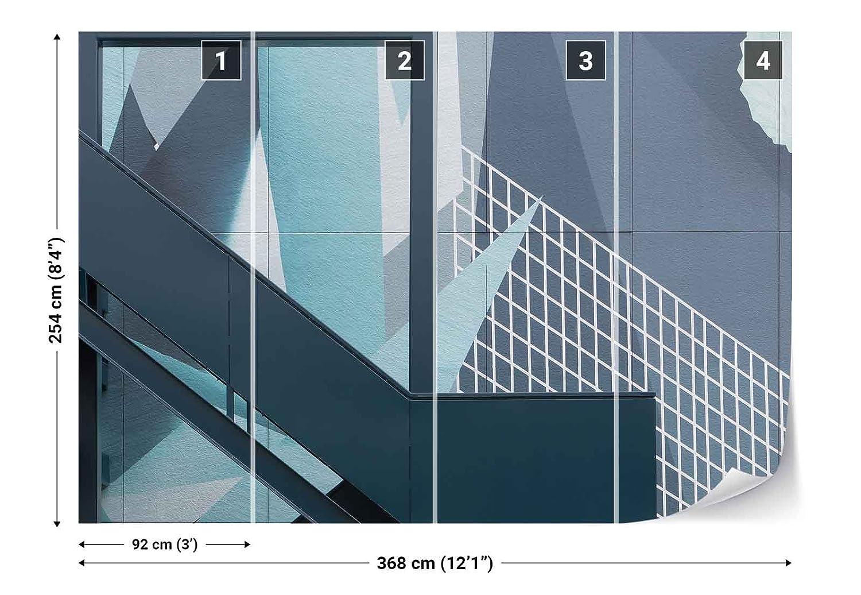 Vlies Fototapete Fotomural - Wandbild - Tapete - Treppe Rahmen ...