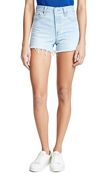 3d0abfb7285ec Levi's Women's Wedgie Shorts Update at Amazon Women's Clothing store