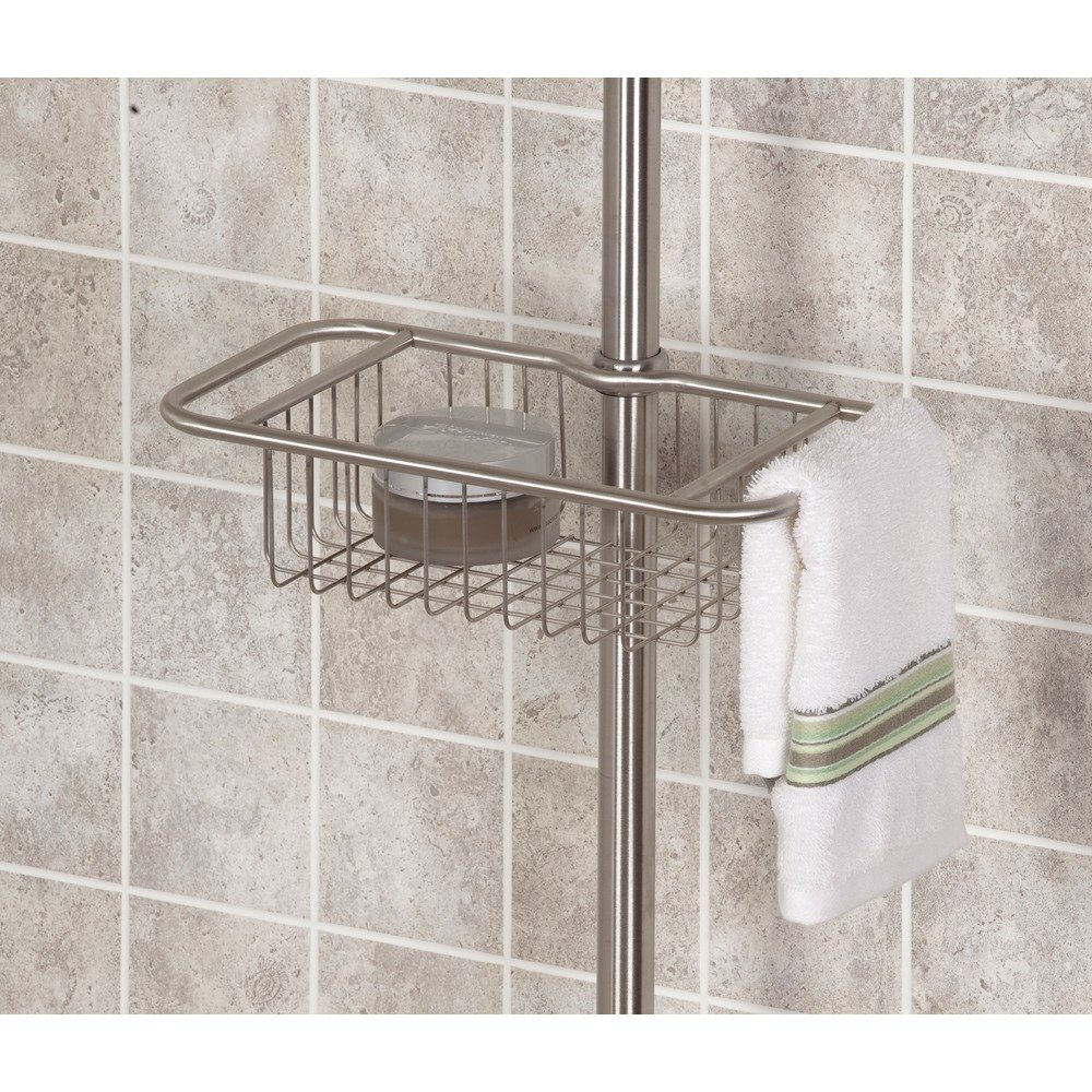 Amazon.com: InterDesign Forma Constant Tension Shower Caddy ...