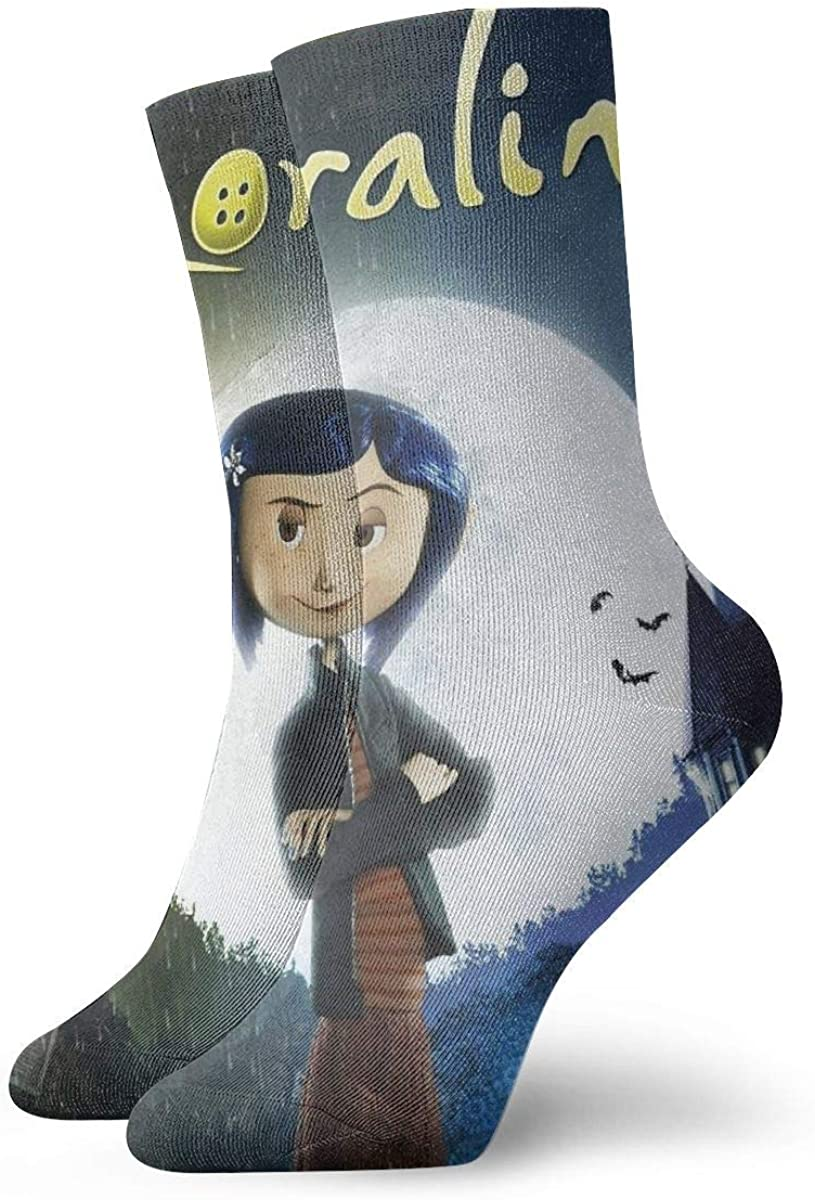 Amazon Com Coraline Magic Gathering Socks High Ankle Socks Halloween Socks Clothing