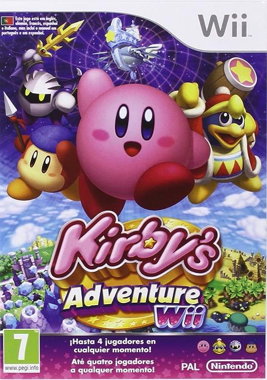 Wii Kirby Adventure: Amazon.es: Videojuegos