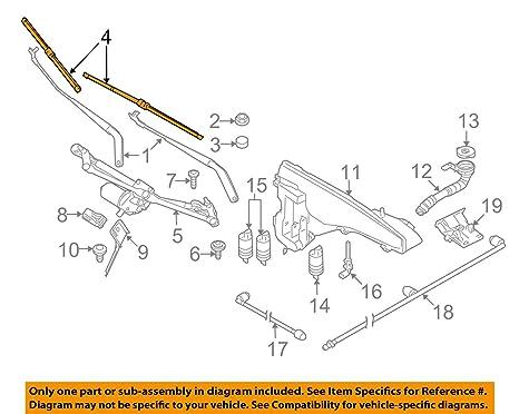 BMW 61-61-0-034-739 - Juego de limpiaparabrisas