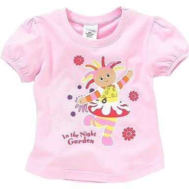 a6ebf8410 In The Night Garden Upsy Daisy Girls Short Sleeve T-Shirt - Pink - 2 ...