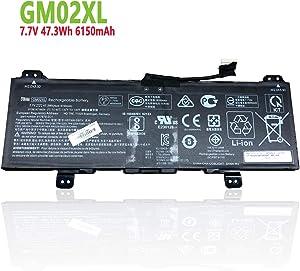 efohana GM02XL Laptop Battery Replacement for HP Chromebook 14 G5 Chromebook X360 11 G1 Series Notebook 917679-271 917725-855 HSTNN-UB7M GMO2XL 7.7V 47.3Wh 6150mAh