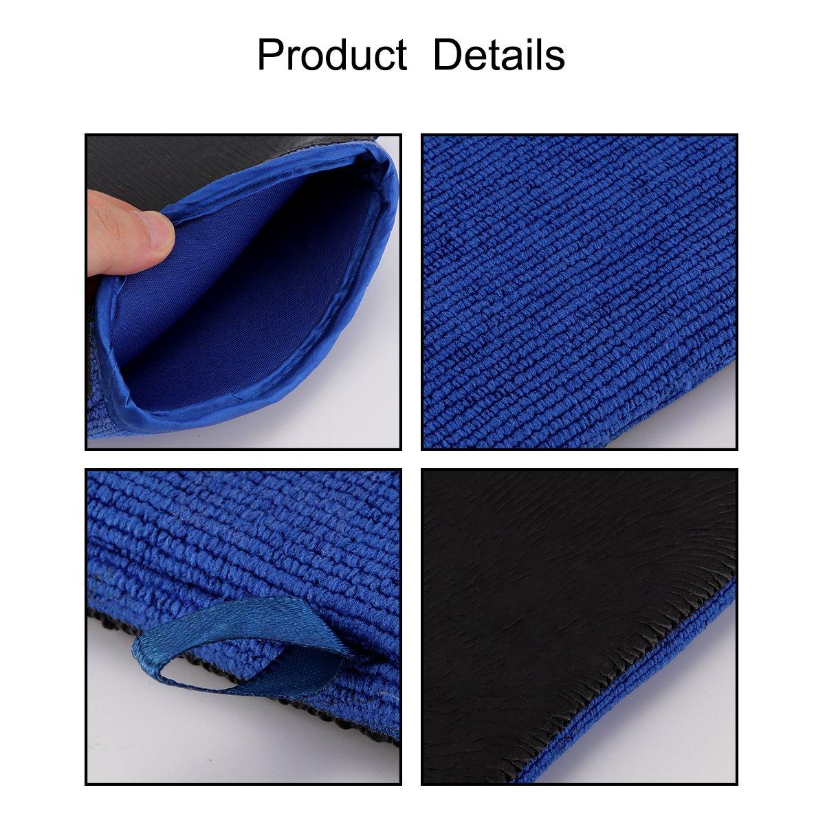 Auto Care Mitt Voiture Auto Lavage Clay Mitt Surface D/écontamination Bar Gant de serviettes pour voitures Auto Auto Care