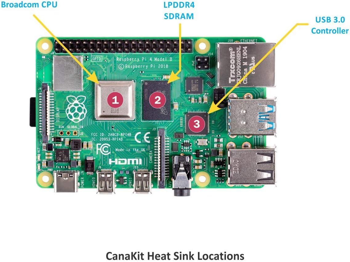 8GB RAM CanaKit Raspberry Pi 4 Basic Kit