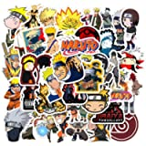 Acekar Naruto Stickers[50pcs] Anime Waterproof for Decal, Laptop Hydro Flask Water Bottle Car Cup Computer Guitar…