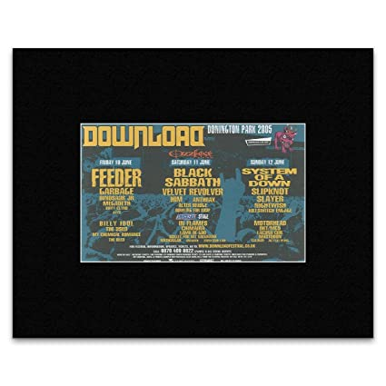 Amazon. Com: nme download festival 2005 feeder black sabbath.