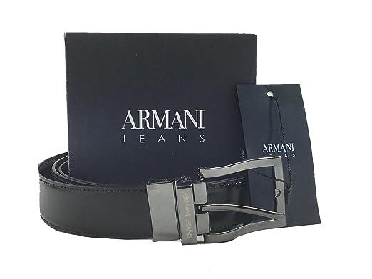 by Armani Jeans - Ceinture - Homme - Multicolore - 105 cm  Amazon.fr ... e4dea6b8b6b