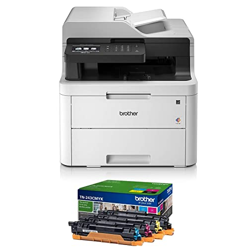 BROTHER MFCL3710CW 4IN1 LED DRUCKER MFCL3710CWG1 A4 WLAN Farbe