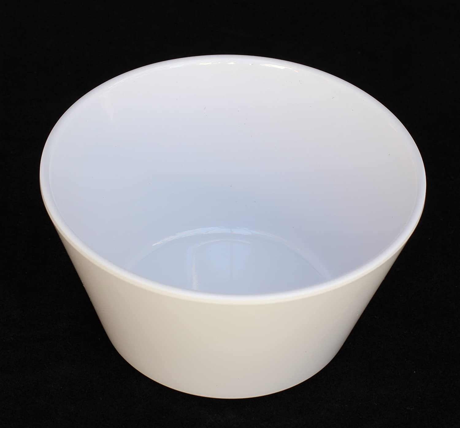 Z-Moments Western Melamine 302 8-ounce Bouillon Cup Bowl, 3 7/8 inch -- 144 per case (12 dozen) NSF (White)