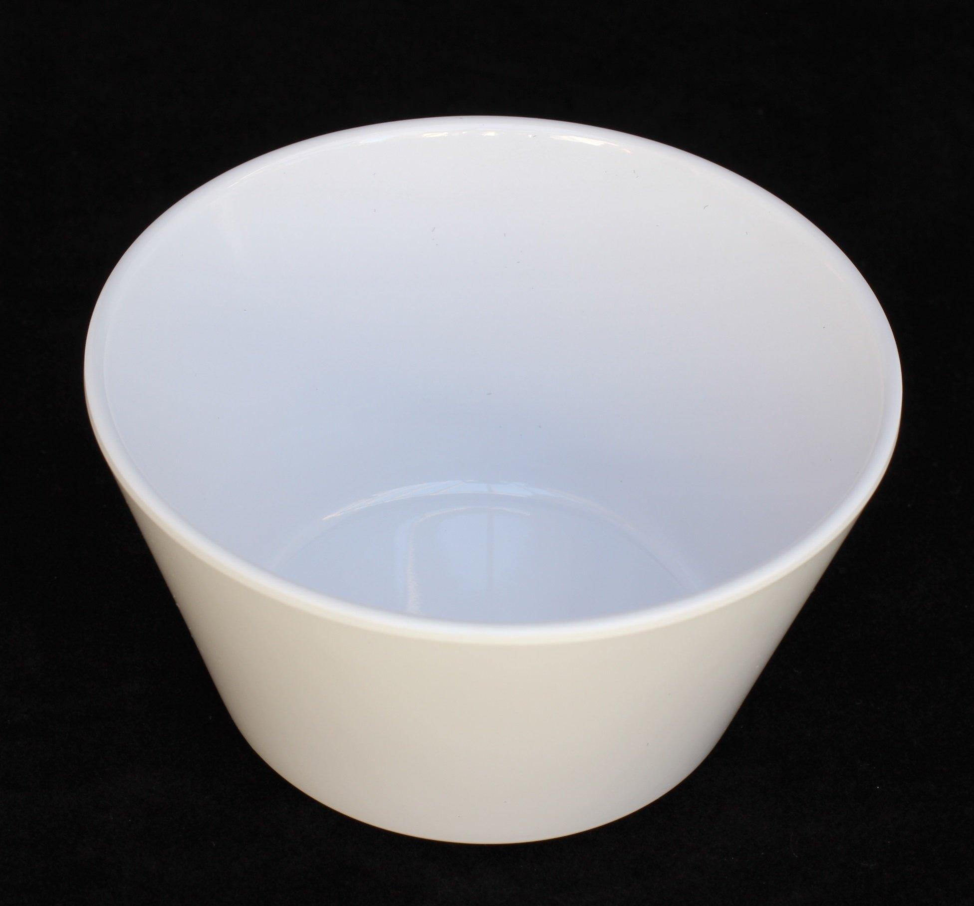 Z-Moments Western Melamine 302 8-ounce Bouillon Cup Bowl, 3 7/8 inch -- 144 per case (12 dozen) NSF (White)